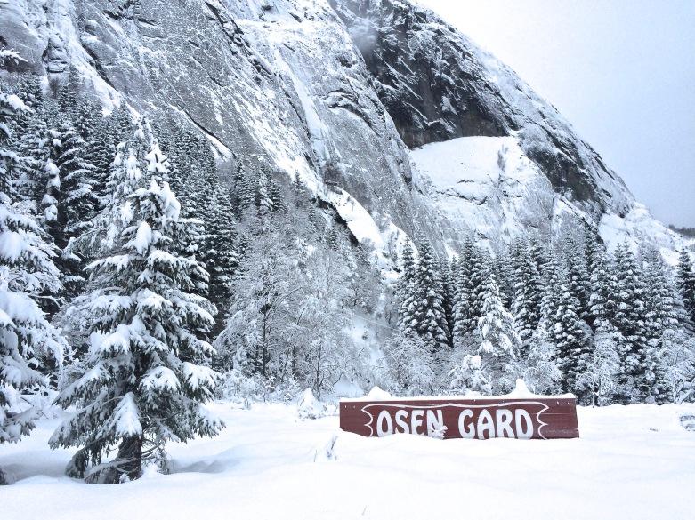 Osen in the winter