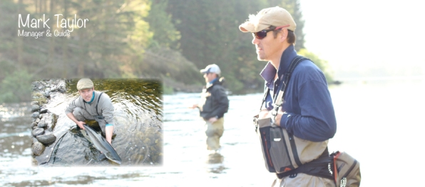 Mark manages the lodge and serves as an extra guide. Mark is also the owner of www.fluefiskereiser.no