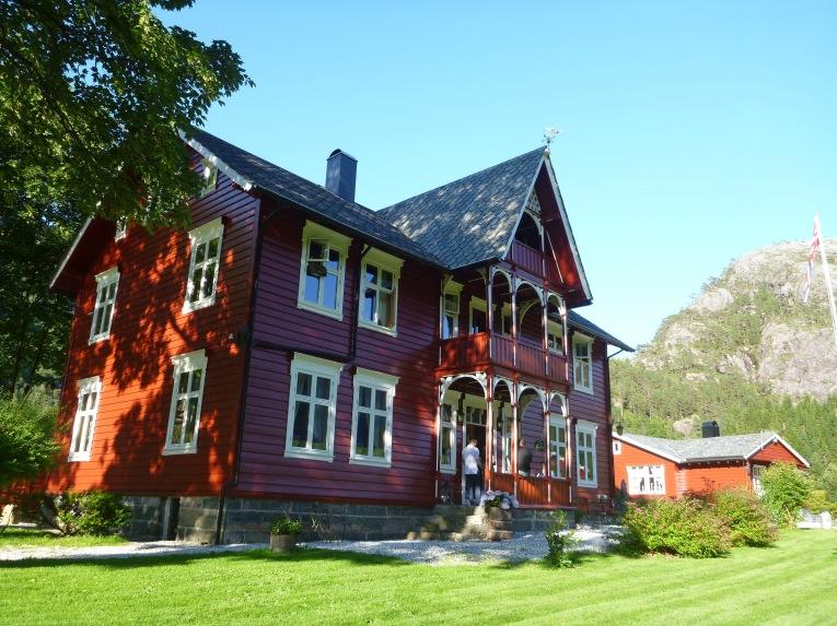 Fiskerhus - the main guest lodge