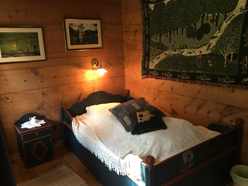 8 rooms affording each angler their own room