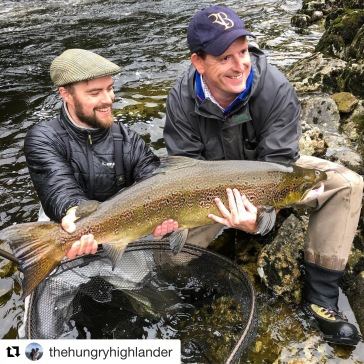 Rory Paterson is back for his second season with us. A world class guide with huge amounts of Salmon experience. A Scot who knows his way around a two hander and a net, and always ready for a wee dram if the occasion should require it.
